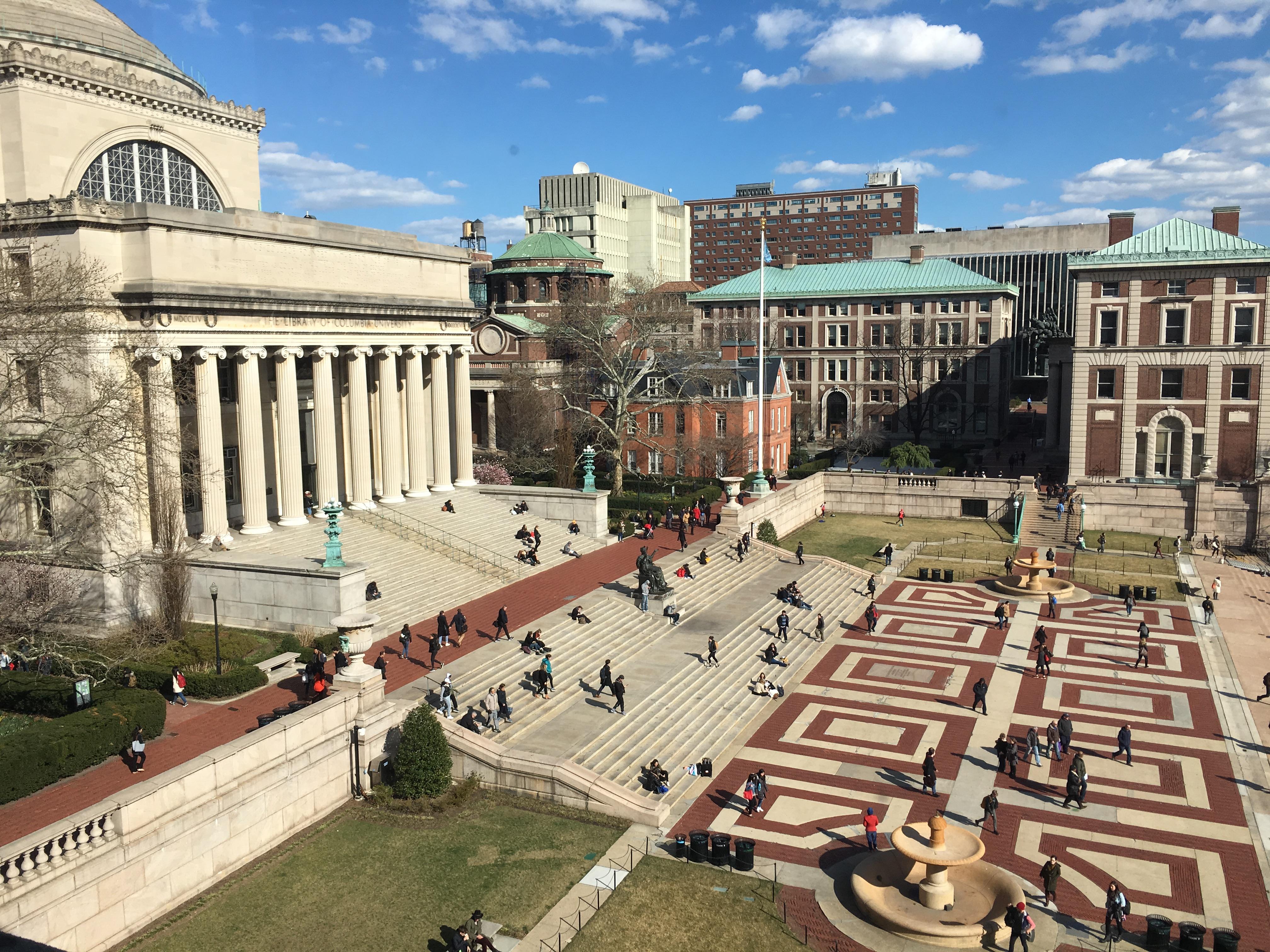 undergraduate programs columbia university department