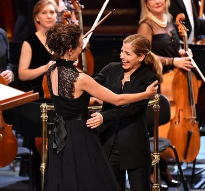Zosha Di Castri and Kristina Canellakis