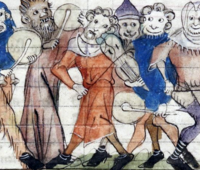 From the Roman de Fauvel