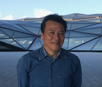 Photo: Composer Ye Xiaogang (photo credit:  George Lewis)