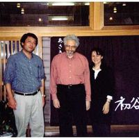 With Akira Takaoka in Japan