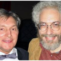 Zygmunt Krauze and Jonathan Kramer in Lodz, Poland