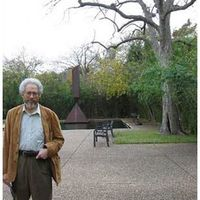 Johnathan Kramer at Rothko Chapel in Houston, Texas