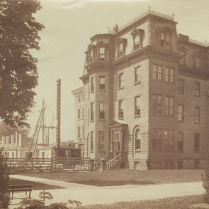 West Hall, an early home for the Music Department (1901)