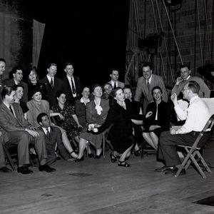 Opera Workshop rehearsal of Otto Luening's Evangeline (1948)