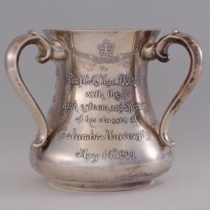 Tiffany silver cup presented to Edward MacDowell by his students (1904)